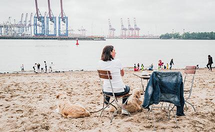 Strand Hamburg Altes Land Oevelgoenne