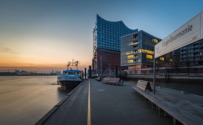 Aus dem Alten Land nach Hamburg