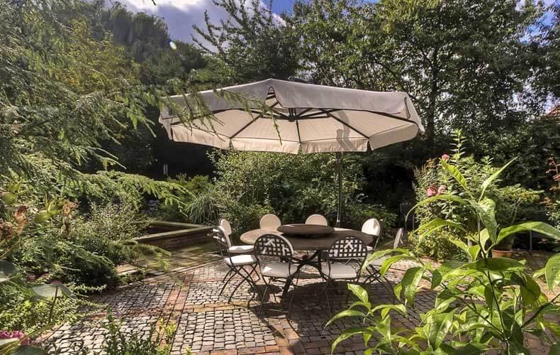 Ferienhof tomDiek Garten
